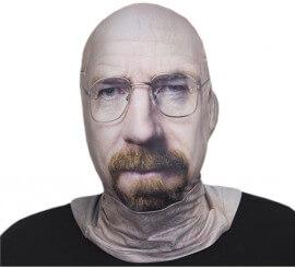 Máscara de tela de Walter White