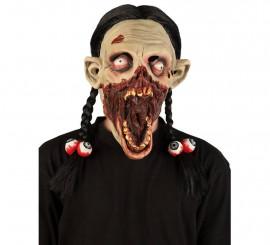 Masque de Zombie avec Couettes