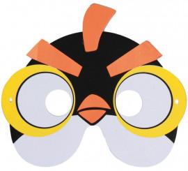 Máscara EVA de Pajarito Amarillo de Videojuego