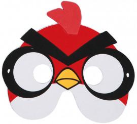 Máscara EVA de Pajarito Rojo de Videojuego
