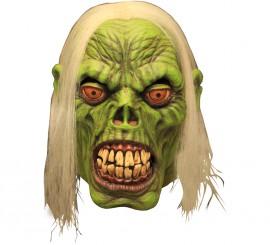 Máscara green zombie verde para Halloween