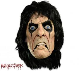 Masque de Heavy Metal Alice Cooper en Latex Halloween