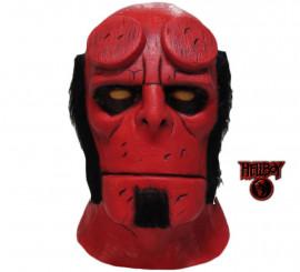 Masque en Latex du diable Hellboy pour Halloween