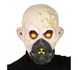Máscara o careta de Zombie nuclear