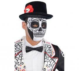 Máscara o careta Señor del Día de Difuntos