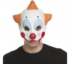 Masque de Clown Diabolique sans Menton