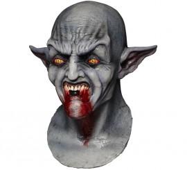 Masque de Vampire Assoiffé Bloodthirst en Latex Halloween