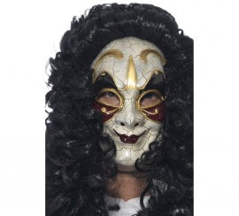 Máscara veneciana de bandolero enmascarado