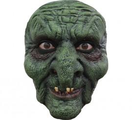 Máscara Witch Brujo Verde para Halloween
