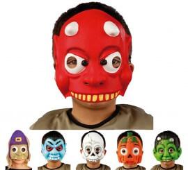 Masque Halloween enfants 6 modèles disponibles
