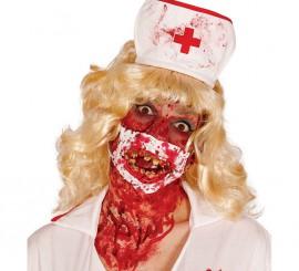 Masque Docteur Zombie pour Halloween