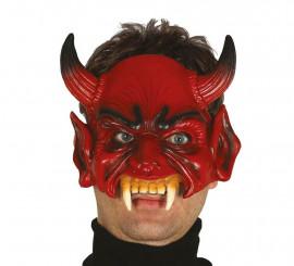 Demi-masque de Démon ou Diable