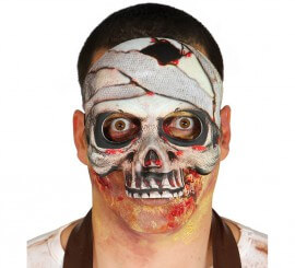 Motié Masque Squelette bandé