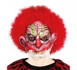 Demi-masque de Clown Sinistre