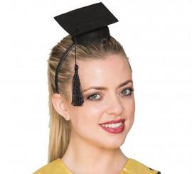 Mini Sombrero Diadema de Graduado