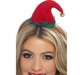 Minigorro de Elfo Rojo con diadema