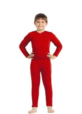 Mono interior Rojo para niños
