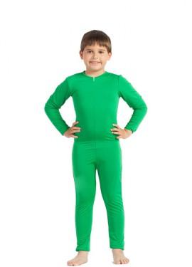 Mono interior Verde para niños