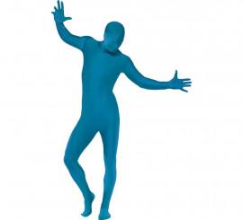 Déguisement Combinaison Seconde Peau Bleu plusieurs tailles