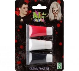 Pack de Maquillage 3 Couleurs en Crème