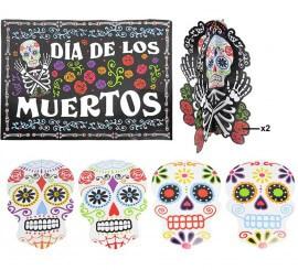 Pack de Decoración para el Día de los Muertos