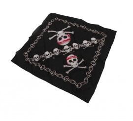 Pañuelo Pirata con Calaveras