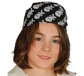 Pañuelo bandana de Pirata infantil