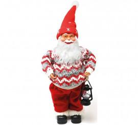 Babbo Natale 40 Cm.Copri Bottiglia A Forma Di Babbo Natale 40 Cm