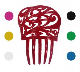 Peigne à Mantille Espagnole Petite 13.6 x 11 cm en différentes couleurs
