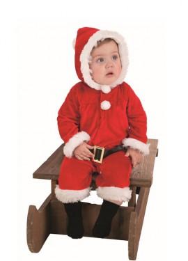 Pelele de Papa Noel para bebé