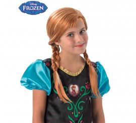 Peluca Anna de Frozen para niña