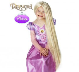 Peluca De Rapunzel De Disney para niña