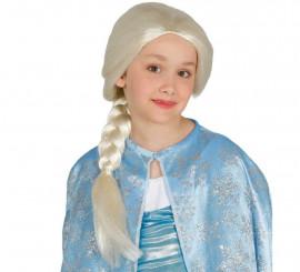 Peluca de Princesa infantil