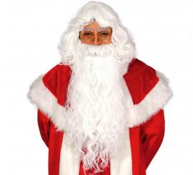 Peluca y barba de Papa Noel extra