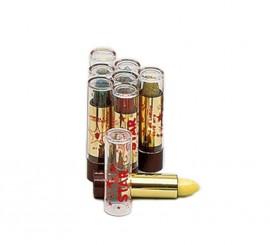Rouge à lèvres à paillettes en couleur Argent