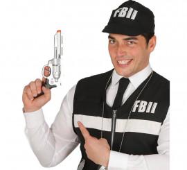 Pistola de agente del F.B.I. de 28 cm