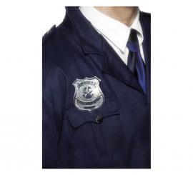 Placa de Policía de metal