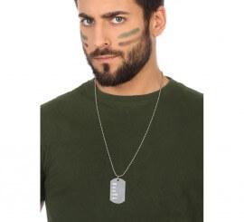 Placa identificativa Militar