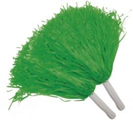 Pompón verde 2 unidades