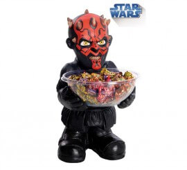 Porta caramelos de Darth Maul de Star Wars