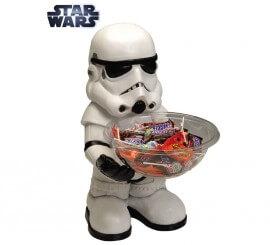Porta caramelos de Stormtrooper de Star Wars