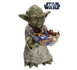 Porta caramelos de Yoda de Star Wars
