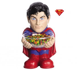 Portacaramelos de Superman de Batman vs Superman