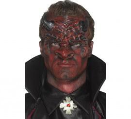Prótesis de látex de Diablo Rojo