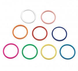 Pulsera Andaluza pequeña de 5,9cm diámetro colores variado
