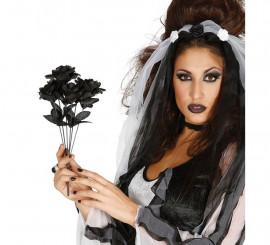 Ramo Rosas Negras 35 cm