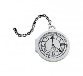 Reloj Grande De Bolsillo Blanco Eva