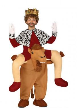 Rey Montando Camello para niño
