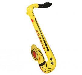 Saxofón hinchable de 70 cm
