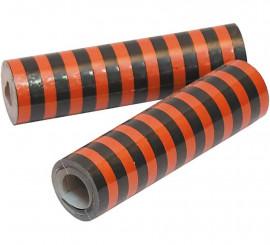 Serpentina Naranja y Negra 18 tiras